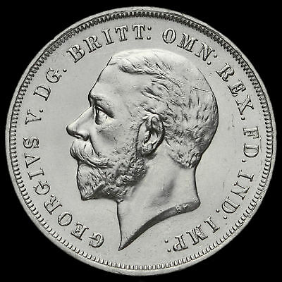1935 King George V Rocking Horse Silver Jubilee Crown, A/UNC #2