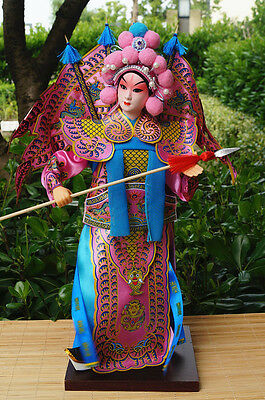 38cm Peking Opera Performer Collection Generals of the Yang Family -Yang Zongbao