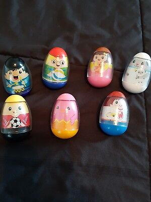 Lot of 7 weebles
