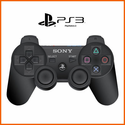 NEW Playstation 3 Wireless Controller For Sony PS3 Black - Retail Pack