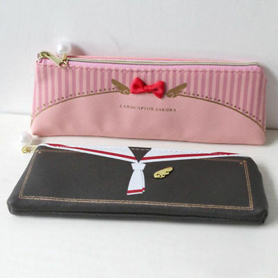 1pcs anime cardcaptor card captor SAKURA pen bag pencil case stationery