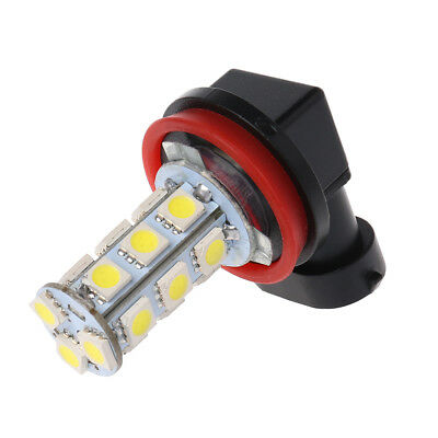 H11 H8 18 LED 5050 SMD Bulb 12V Car Day Driving Fog Headlight Xenon White Lamp