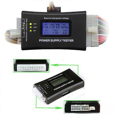 LCD Digital PC Computer Power Supply Diagnostic Tester ATX /BTX /ITX Compliant Y