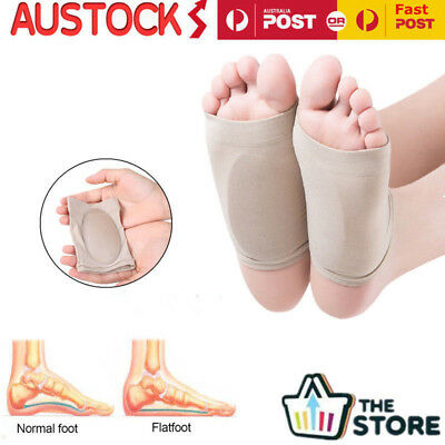 GEL Pain Relief Insole Orthotic Plantar Fasciitis Foot Heel Arch Support Sleeve