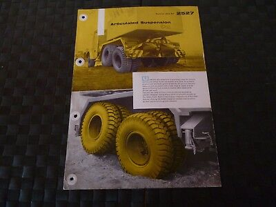 Coles Articulated Suspension Technical Data Ref. 2527 1958 Leaflet *read*