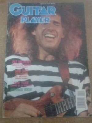 GUITAR PLAYER nº 13. PAT METHENY, ADRIAN LEGG, ANDY SUMMERS, MARK WHITFIELD