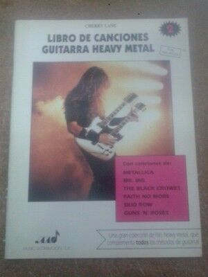 MÉTODO DE GUITARRA HEAVY METAL. LIBRO DE CANCIONES 2 (Cherry Lane)