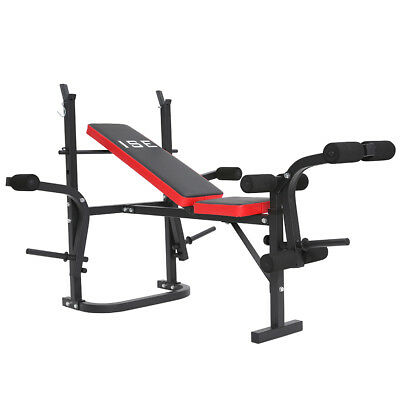 ISE Banc de Musculation Multifonction Ajustable Pliable Inclinable Complet SY543