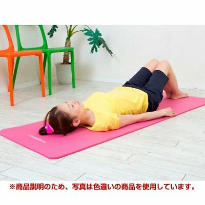 Fitness Mat Soft and Comfortable 10 mm Thick 180 cm Long Pink F/S w/Tracking#