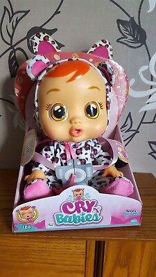 Baby Wow Cry Babies Lea Toy Doll New