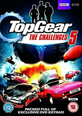 Top Gear - The Challenges 5 [DVD][Region 2]