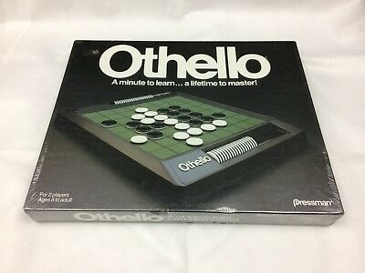 Vintage Othello Game by Pressman - 1990 Edition - Brand New and Factory Sealed!
