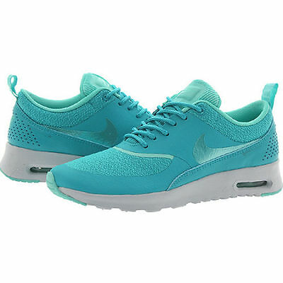 purchase cheap 1713e a0f9c Nike Air Max Thea Dusty Cactus Turquoise Platinum 599409 303 Womens New