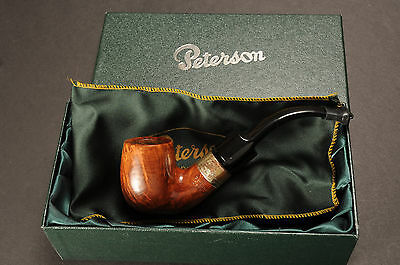 1969 Irish estate Peterson 9 S Pipe DeLuxe GH Georg Huber Munich Sterling Band