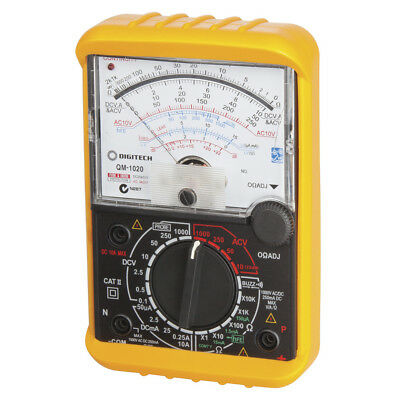 Analog Movement Multimeter