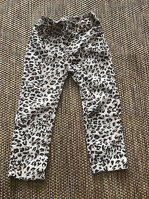 The Children's Place Size 2T Toddler Girls Elastic Waist Animal Print Pants