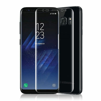 New Clear Full Coverage TPU Screen Protector Film for Samsung Galaxy S8 Plus