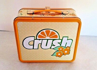 """""""Have a Orange Crush On Me"""" Vintage Lunch Box"""