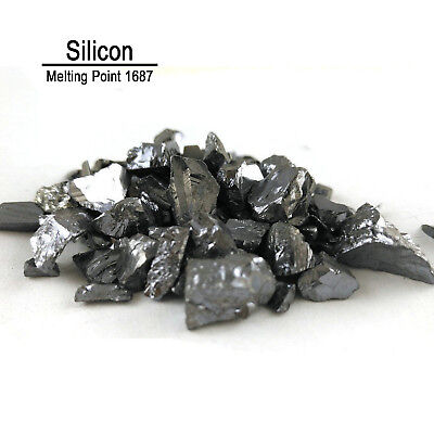 50g Si 99.99% Pure Silicon Metal Metalloid Element 14 with label