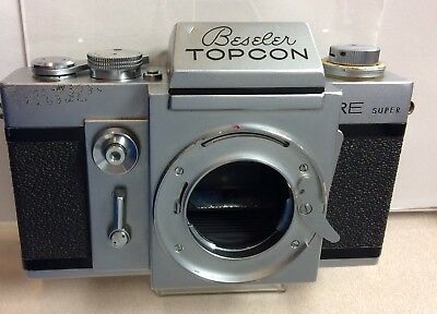 Vintage Beseler Topcon Super RE 35mm SLR Film Camera Body