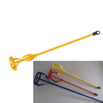 New Drill Paint Pot Plaster Mixer Stirrer Mix Paddle DIY Whisk Hex Shank Tool FT