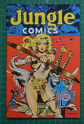 Jungle Comics #1 NM- (May 1988, Blackthorne) C:  Dave Stevens