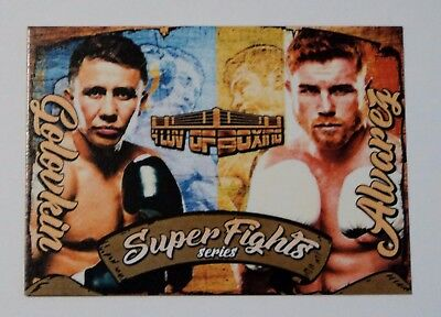 Canelo vs Golovkin 2017 4LUVofBOXING Boxing Card Limited Print Super Fights