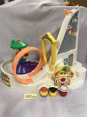 Vintage Fisher Price Little People Fun Park 1992 Roller Coaster Ferris Wheel