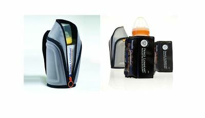 Prince Lionheart Reusable Travel Portable Bottle Warmer Single or Twin Pack