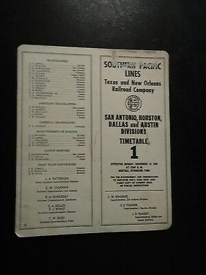 southern pacific railway employees timetable