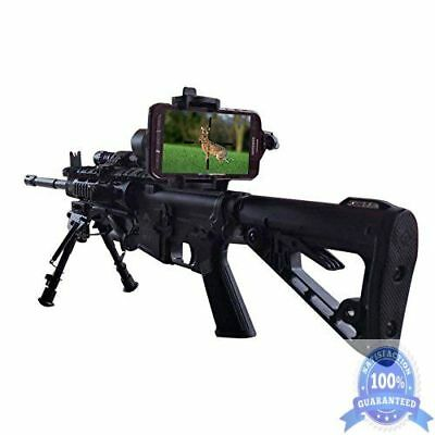 Smartphone iPhone Mount Spotting Rifle Scope Digiscoping Monocular Cam Adapter
