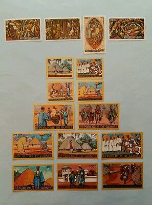 GUINEE Conakry collection vie africaine neuf MNH