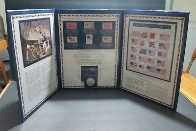 Star Spangled Banner Bicentennial Commemorative - 2012 Silver Dollar & Stamps