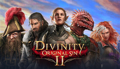 Divinity Original Sin 2 Steam (PC) --- EUROPE ONLY!