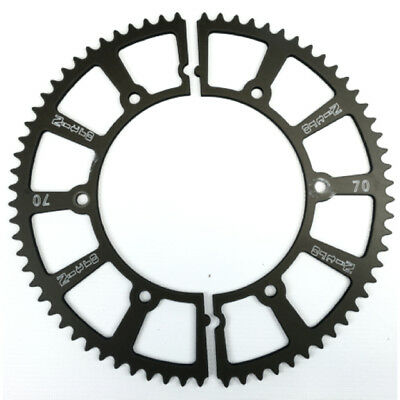 Nitro Manufacturing 70 Tooth Hard-Anodize Go Kart Racing Split Gear Sprockets