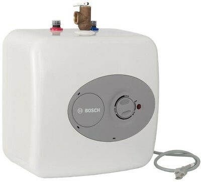 Electric Hot Water Heater Under Sink Mini Small Tank Point of Use Bosch 2.5 Gal.