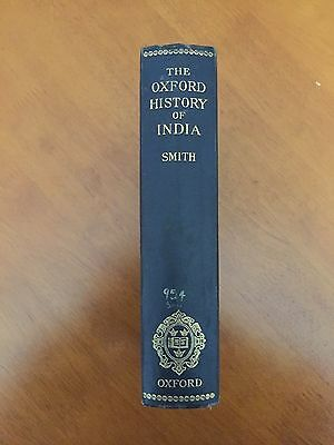 The Oxford History of India 1911 Edition