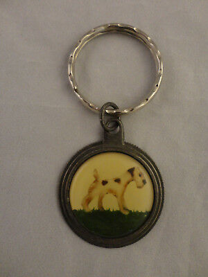 Airedale Terrier Round Medallion