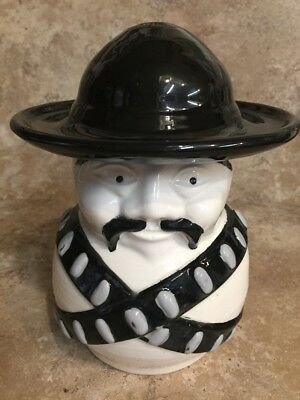 Moustache Bandito Cookie Jar (171)