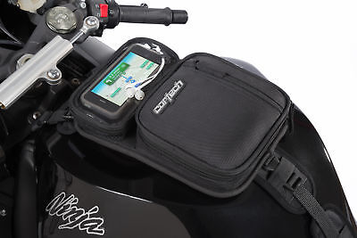 Cortech Super Micro 2.0 Motorcycle Fuel Tank Bag Magnetic and Strap Mount