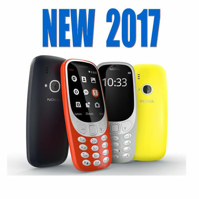 UK NOKIA 3310  2017 Dual SIM 2MP Camera Long Battery Life Retro-Fantastic Phone