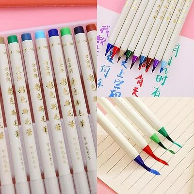 14pc/Set Colorful Painting Brush Pen Watercolor Copic Arts Marker Pen Comic Gift