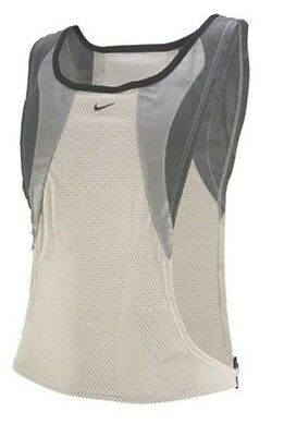 Nike Maillot Reflective Running Vest. SZ S/M New Adult Unisex