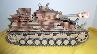 Trumpeter  1/16 German PzKpfw.IV Ausf.F2 Medium Tank (BUILT)