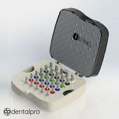 30 Safe Drills With Integral Stoppers Premum Surgical Kit Box for Dental Implant