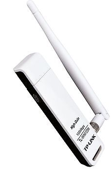 TP-Link TL-WN722N Wireless USB Adapter Stick 150Mbit / s WPS High Gain ver. 2.0