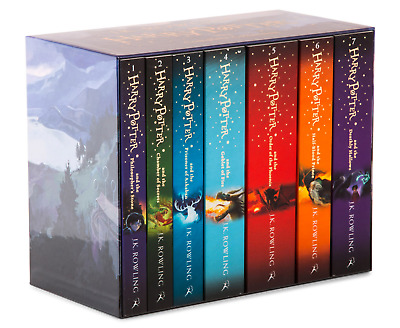 Complete Harry Potter Paperback Boxed Set Collection | 7 Books Box, J.K Rowling