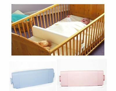 Safababy Safer Baby Sleeper Positioner for Cots & Cot Beds Blie Pink White