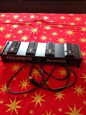 Technote FC2 4 way Footswitch for Technics Keyboards KN6500KN6000/5000.