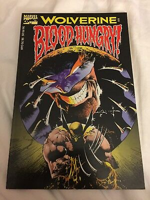 Wolverine: Blood Hungry; VF/8.5; First Printing; Free Shipping!